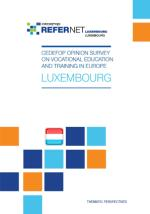 Cedefop opinion survey on vocational education and training - Luxembourg