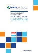 Cover Key competences in vocational education <br/>and training - Luxembourg